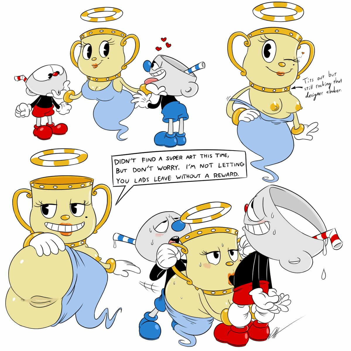 character are which you cuphead Tytannial, princess of camellias