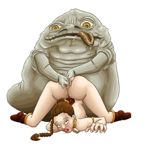 jabba and leia Garrys mod five nights at freddys