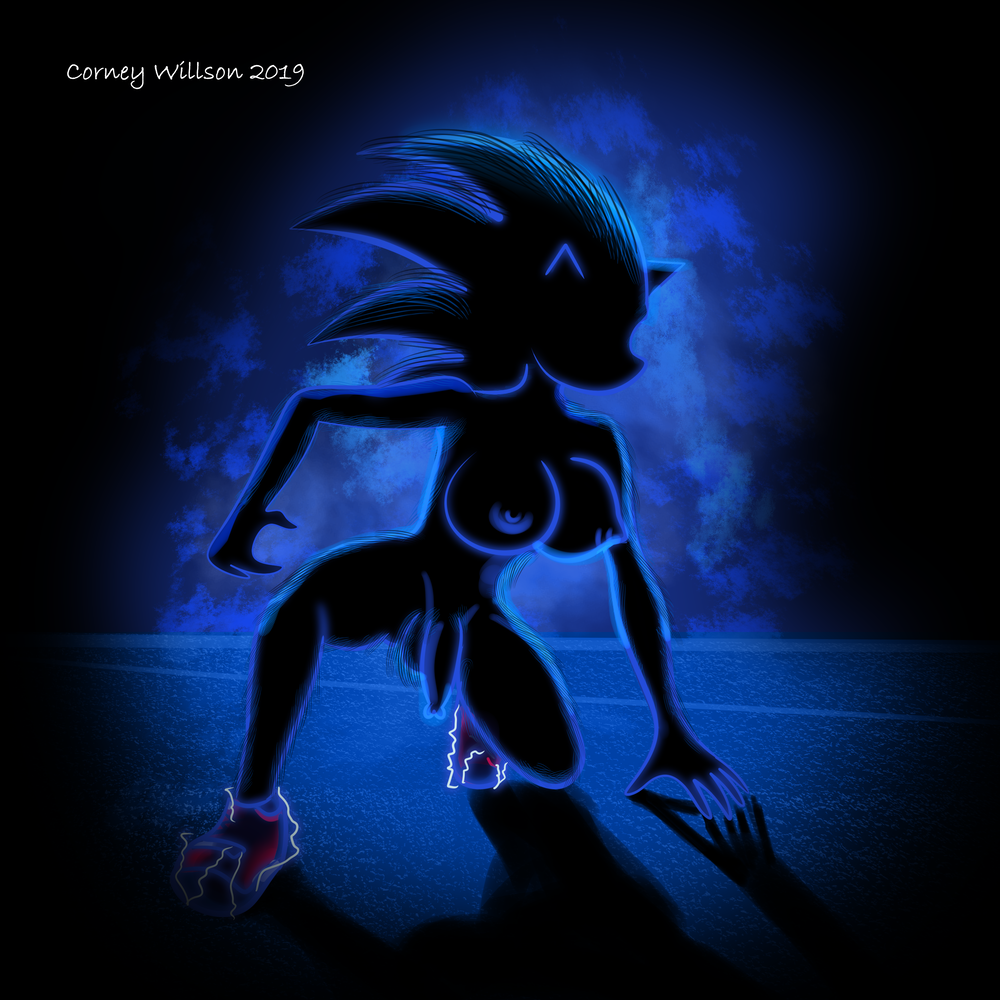 sonic hedgehog in feet the is how tall Trials in tainted space fan art