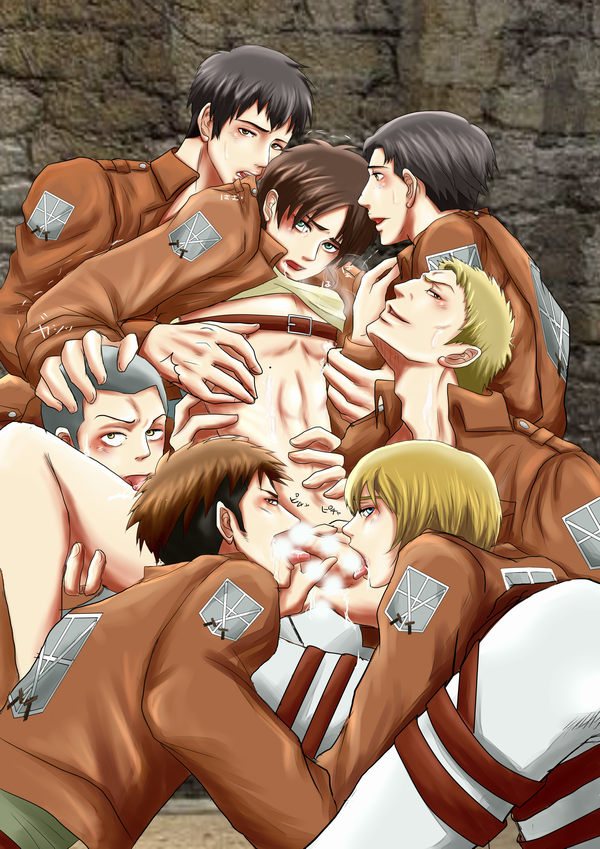 attack titan on gay porn Spooky's house of jumpscares specimen 5