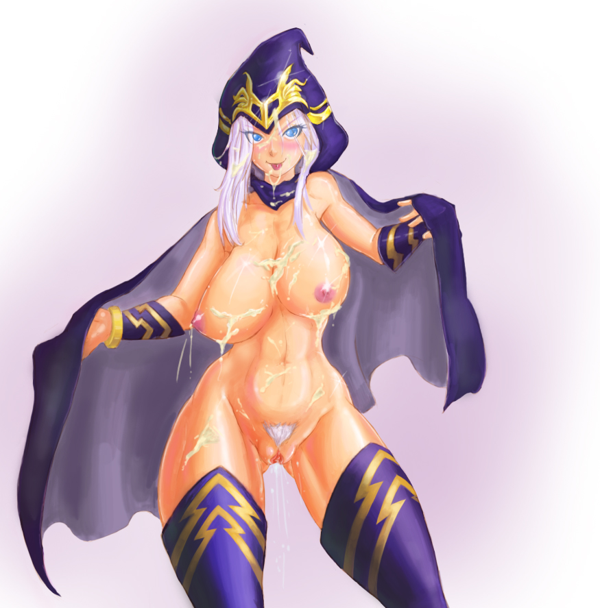 league legends nude ahri of Jessica rabbit and holli would