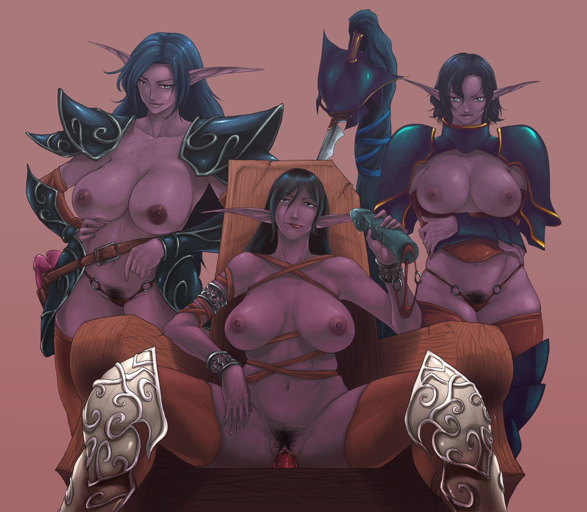 wow night face elf markings The surreal world of any malu