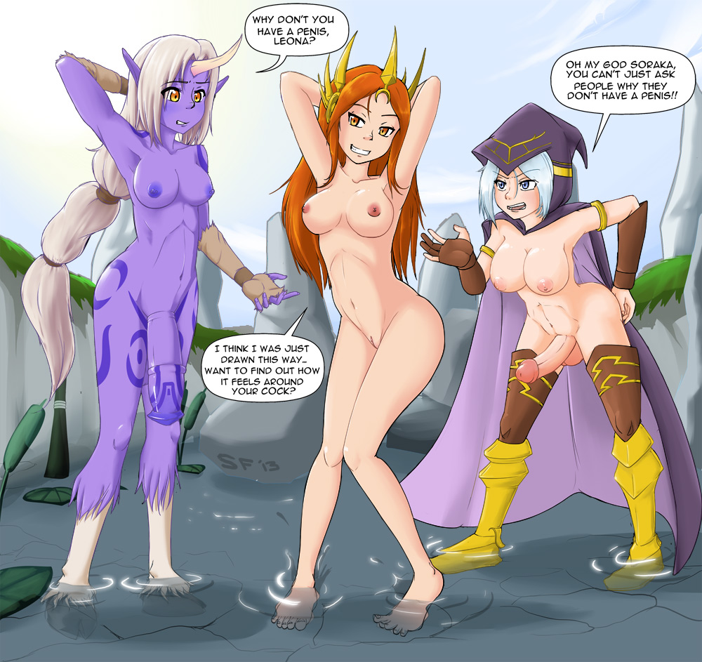 sona nude of legends league My little pony pony of shadows