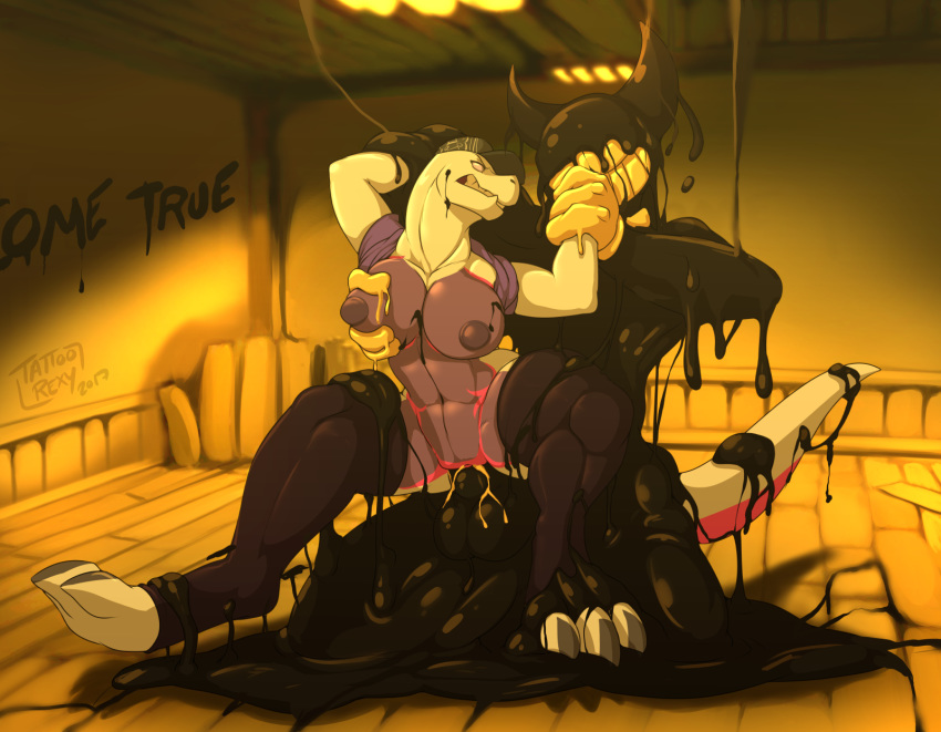 the bendy art concept and ink machine Naruto x pokemon harem fanfiction