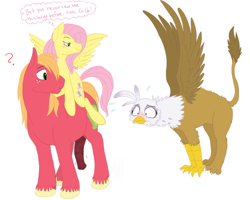 mlp and big fluttershy mac Sheriff blubs and deputy durland gay